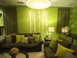 Decorating With Green Attractive Green Living Room Ideas With Interior Decorating Green