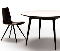 retro corian round dining table from denmark