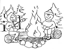 Small Picture Get This Printable Camping Coloring Pages 73400