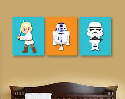 >star wars nursery etsy star wars nursery decor star wars set of 3 4 5 or 6 star wars bedroom decor personalized star wars wall art canvas or print