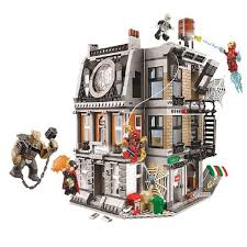 new clock tower expecto patronum castle compatible with figure model building block bricks toys 75948