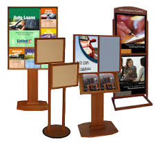 Multiple Poster Display Stands Quality Poster Stands and Display Frames along with fine Wood 83