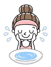 washing face clipart. Unique Face Face Wash Wash With Water With Washing Clipart N