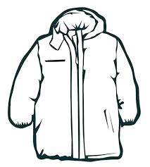 clothing coloring pages winter coat page clothes clothing coloring pages winter coat page clothes