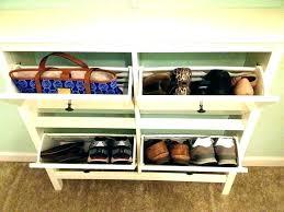 closetmaid shoe storage shelf 3 tier organizer in white shelves rack closet stackable cabinet tie closetmaid shoe storage