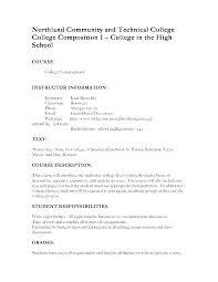 Syllabus Template High School Syllabus Template High School Naomijorge Co
