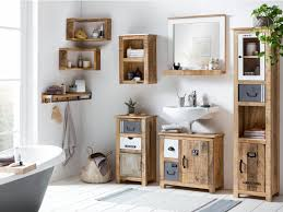 Badmöbel Set Pune I Woodkings Badezimmer Idee Inspiration Möbel