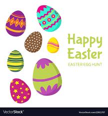 Happy Easter Easter Egg Hunt Background