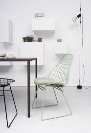 wire furniture. originally designed in the classic wire chair by cees braakman for pastoe makes a welcome return furniture