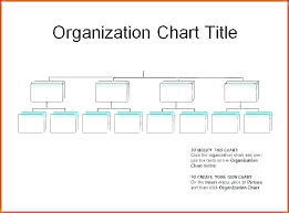 26 Rational Organizational Structure Chart Template Word