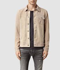 all saints chorley suede jacket