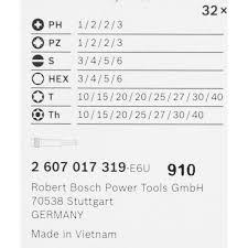 <b>Набор бит Bosch</b> Extra Hard 32 шт в Санкт-Петербурге – купить ...