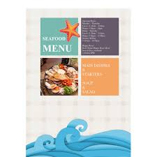 restaurant menu maker free menu templates samples menu maker publisher plus