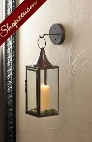 gatehouse hanging wall lantern rustic
