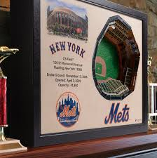 Ny Mets 3d Seating Chart New York Mets 25 Layer Stadiumview 3d Wall Art Citi Field