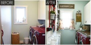 laundry room makeovers charming small. Laundry Room Makeover Before After Makeovers Charming Small E