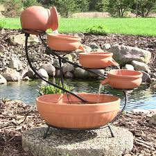 Garden Fountain Marvellous Solar Powered Outdoor Fountains Solar