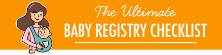 Free Printable - Baby Registry Checklist • Mom's Shopping Bag