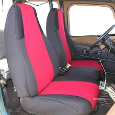 Waterproof Jeep Wrangler Seat Covers - Velcromag