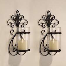 wall hanging candle holders