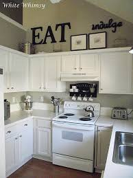 Small Picture black accents white cabinets Really liking these small kitchens