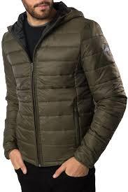 threadbare mens padded jacket new mongrel lightweight puffer