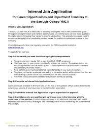 Internal Resumes 2018 Top Resume Templates Internal Job Resumes Bino 9terrains Co