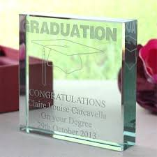 celebrate a graduation in style with this perfect giftgraduation keepsake glass block