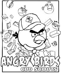 Small Picture Akelas Council Cub Scout Leader Training Angry Birds Coloring