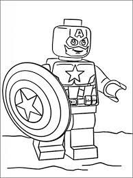 Lego Marvel Heroes Coloring Pages 7 Legos Måla Pyssel Barn