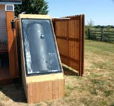 diy outdoor shower plans outdoor shower build photo 4 diy outdoor shower ideas