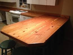 heart pine countertops kitchen miami by seale