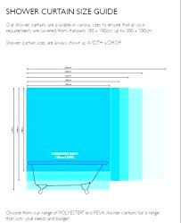 shower curtain size curtain sizes awesome shower curtain size for shower stall shower curtain size 1