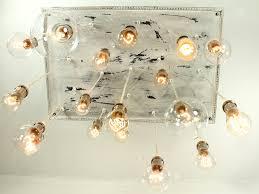reclaimed barn wood chandelier with edison bulbs inhabitat green design innovation architecture green building