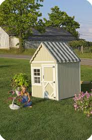home absorbing kids outdoor wooden playhouse design