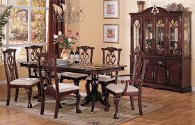 dark wood dining room furniture. Furniture: Cherry Dining Room Sets American Drew Grove 7 Piece Leg 14 From Dark Wood Furniture