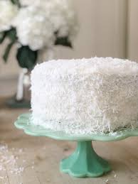 The Best Coconut Cake Recipe