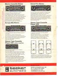 becker europa amplifier wiring attachment becker models offered1972 jpg