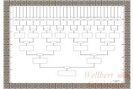 Blank Family Tree Template Free Premium Template Simple Family Tree Templates Download Free Premium Lineage Template