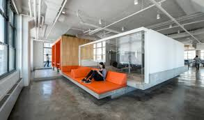 Horizon Media New York City an office space made by AI Photo