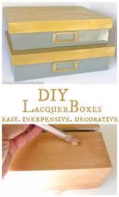 diy lacquer furniture. DIY_lacquer_decorative_boxes Diy Lacquer Furniture