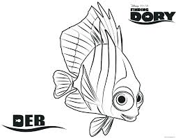 Finding Nemo Coloring Pages Bruce Squirt Online Color Page Printable