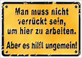 3er Packung Postkarte Sprüche Humorman Muss Nicht Verrückt Sein