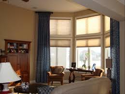 Large Living Room Window Treatment Living Room Window Treatments For Large Windows Elegant Home Decor