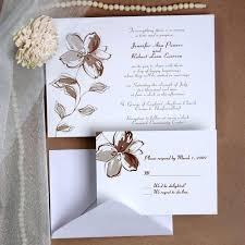 Simple Elegant Wedding Invitations 6 And Invitation Cards Natalietan