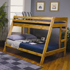 twin over full wood bunk bed style