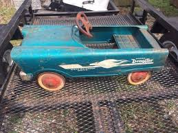 Vintage sears toy dragster car
