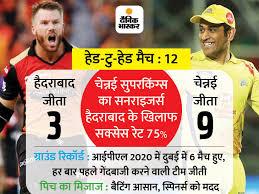 Venkata chari28 april 2021 1:48 pm gmt. Csk Vs Srh Head To Head Record Predicted Playing Dream11 Ipl Match Preview Update Chennai Super Kings Vs Sunrisers Hyderabad Ipl Latest News लग त र द म च ह र च क