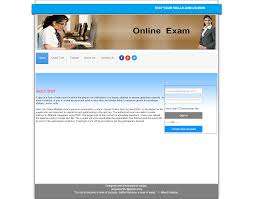 online examination portal in asp net and net index page