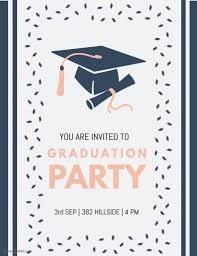 Graduation Party Invitation Template Graduation Party Invite Template Postermywall